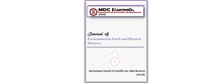 IJSAR-JEEPS  Journal of Environmental, Earth and Physical Sciences