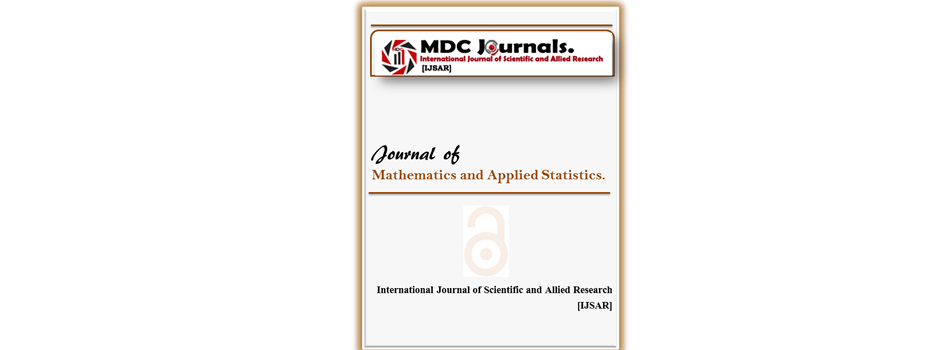 IJSAR-JMAS  Journal of Mathematics and Applied Statistics (IJSAR-JMAS)